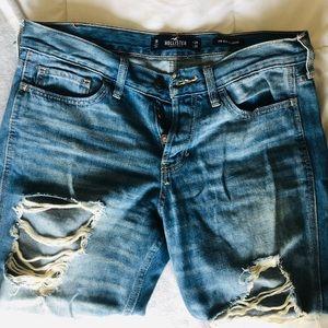Low Rise Boyfriend Jeans